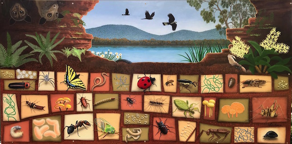 entomology mural