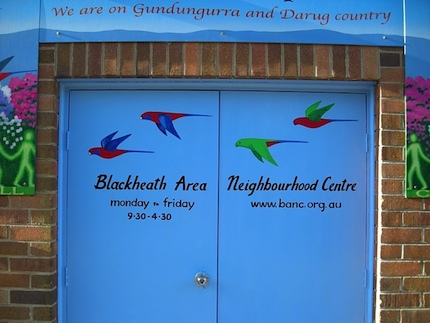 blackheath area neighbourhood centre